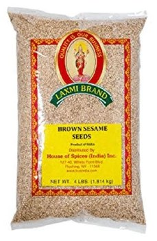 Laxmi: Sesame Seeds Brown 4lb