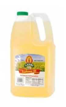 Laxmi: Sunflower Oil 96oz