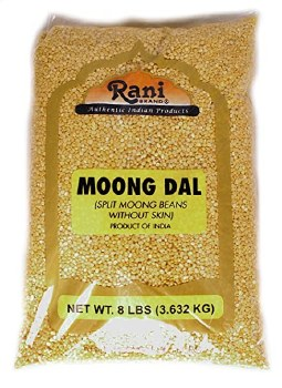 Rani : Moong Split 8 Lbs