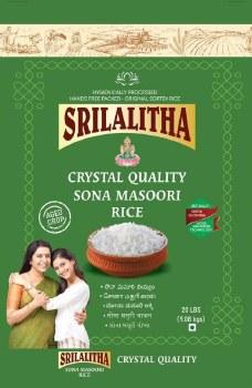 Sl: Sona Masoori Crystal