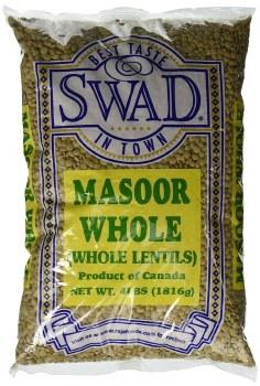 Swad: Masoor Whole Desi 4lb