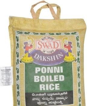Swad: Ponni Boiled Rice 10lb