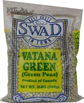 Swad: Green Vatana 2lb