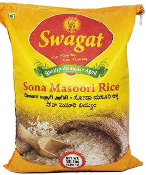 Swagat: Sona Masoori Rice