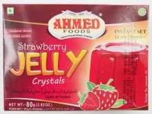 Ahmed : Strawberry Jelly 85gm.