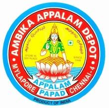 Ambika: Appalam Depot 100gm