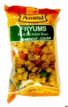 Anand: Fryums Bhindi Cut Color