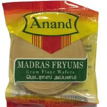 Anand : Madras Fryums 200 Gm.