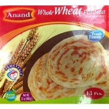 Anand : Whole Wheat Parotta 6p