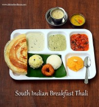 Breakfast Thali Pick 3 Items