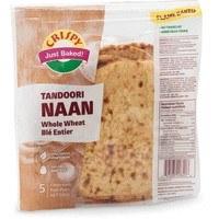 Crispy: Whole Wheat Naan