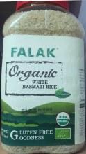 Falak: Org White Basmati Rice