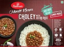 Haldiram: Choley Chawal