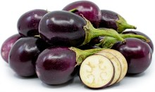 Eggplant Indian Round /lb