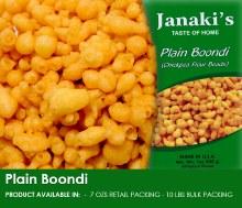 Janaki: Plain Boondi 7oz