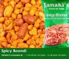 Janaki: Spicy Boondi 7oz