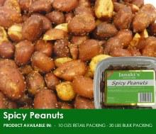 Janaki: Spicy Peanuts 10oz