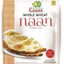 Kawan: Whole Wheat Naan 4ct
