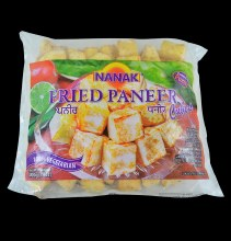 Nanak: Fried Paneer Cubes