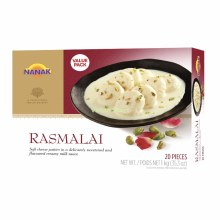 Nanak: Rasmalai 20ct - 1kg