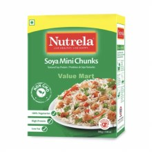 Nutrela: Mini Soya Chunks 220g