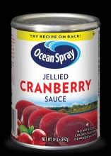 Ocean Spray : Cranberry Sauce