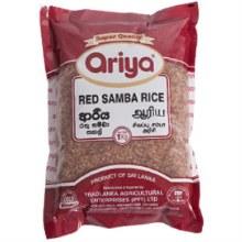 Ariya: Red Samba Rice 5kg