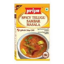 Priya: Spicy Telugu Sambar 50g