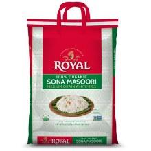 Royal: Org Sona Masoori 20lb