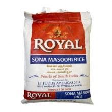 Royal: Sona Masoori Rice 20lb