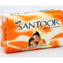 Santoor :sandal Soap 100g. 4ct