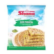 Shana:  Mixed Veg Paratha 4pcs