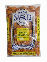 Swad : Almonds Whole 400gm.