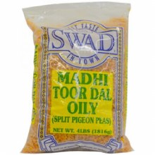 Swad : Toor Dal Oily 4lbs