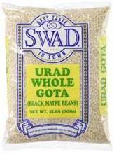 Swad : Urad Whole Gota 2lbs