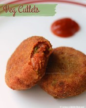Anand : Vegetable Cutlets 12pc