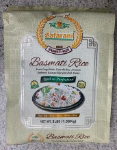 Zafarani : Basmati Rice 3lbs.