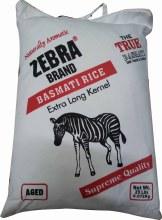 Zebra: Basmati Rice 10lb
