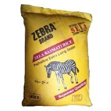 Zebra: Basmati Sella Rice 10lb