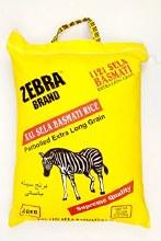 Zebra: Xxl Sela Basmati Rice