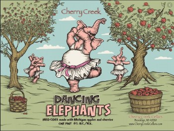 Cherry Creek Dancing Elephant 4 Pack 16oz Cans