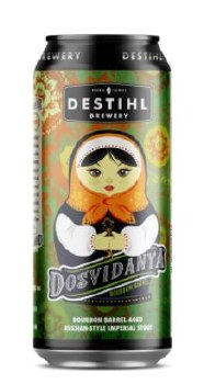 Destihl Dosvidanya BBA Russian Style Imperial Stout 16oz Can