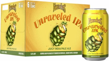 Founders Brewing Unraveled IPA 6 Pack Cans