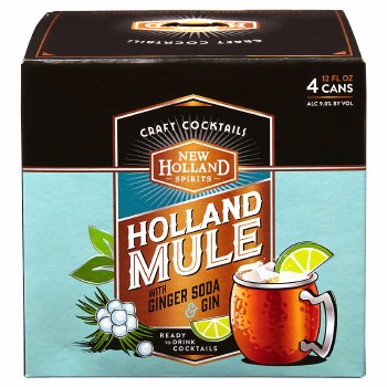 New Holland Mule 4 Pack Cans