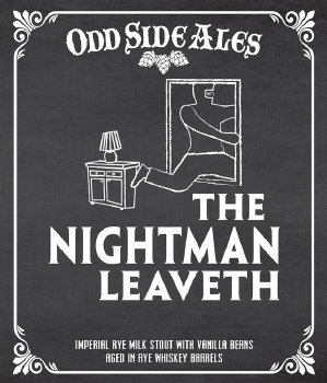 Oddside Ales The Nightman Leaveth 12oz Can