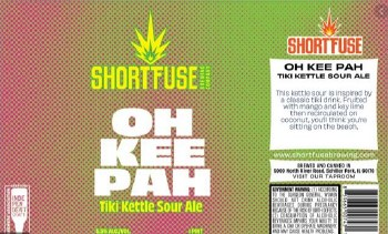 Shortfuse Oh Kee Pah Kettle Sour 16oz Can