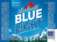 Labatt Blue Light 1/4 Barrel