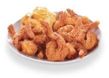 16 Piece Cajun Shrimp With Honey Butter Biscuit