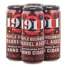 1911 Maple Bourbon Barrel Aged Cider 4 Pack 16oz Cans