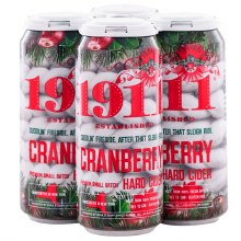 1911 Cider Cranberry 4 Pack 16oz Can